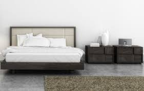 wood and upholstered beds. LifeStyles Furniture Presents The Cubic Series Upholstered Wood Bed By Huppe. A Modern Contemporary Panel Design Can Be Found Throughout Various And Beds