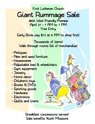End Of Summer Yard Sale Flyer Template Rummage Examples Cassifields Co