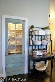 love love love this old door on the pantry