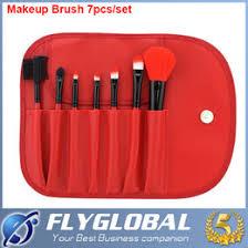 2016 7 pcs professional make up brushes foundation brush cosmetic set kit tools eye shadow blush makeup brush factory