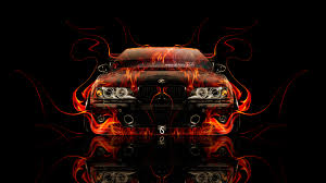 bmw m5 e39 tuning front fire car