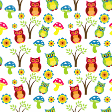 Owl Pattern Enchanting Cuteowlwallpaperpattern Robins Nursery School