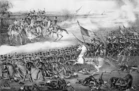 defeat in war. defeat of the mexican army under general santa anna 20000 in war