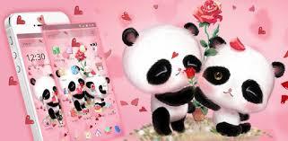 Pink <b>Panda Love</b> - Apps on Google Play