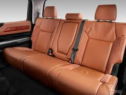 2016 toyota tundra rear seat