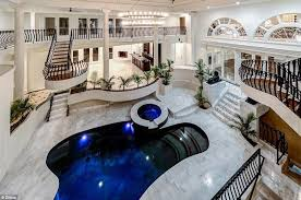mansion bedrooms with a pool. Inside Of Big Mansions A Going From Your Bedroom To Swimming Mansion Indoor Pool With Bedrooms D