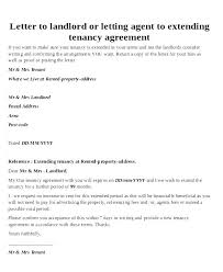 Lease Renewal Letter To Tenant Template Renewal Clause In Lease Agreement New Letter To Tenant Free