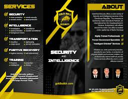 flyer companies entry 17 by mjbenitez for flyer design for security and