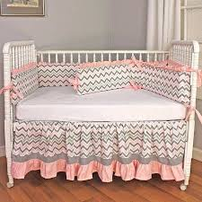 pink crib bedding sets chevron pink crib bedding set a zoom pink and gray nursery bedding sets