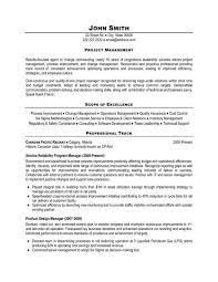 click here to this production planner or inventory click here to this project manager resume template