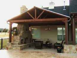 attached covered patio designs. Back Patio Design Outdoor Covered Designs Flagstone Stone Fireplace Also Stunning Trends Attached P