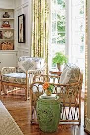sunroom wicker furniture. a pair of rattan club chairs set near the family roomu0027s large bay window creates small sunroomlike moment sunroom wicker furniture