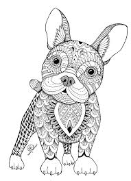 Easy and free to print puppies coloring pages for children. Puppy Coloring Page For Adults Coloring Rocks
