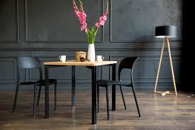 Triventi Quadratisch Tisch Schwarz Rund Beine Ragabapl