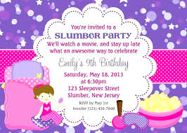 How To Make A Sleepover Invitation Diy Sleepover Party Invitations Sleepover Invitations New Printable