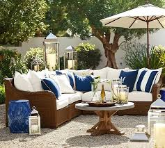 synthetic trim indoor outdoor pillow pottery barn pottery barn chesapeake outdoor furniture stain