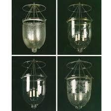 glass bell jar lanterns