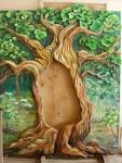 Из чего сделать дерево для декорации