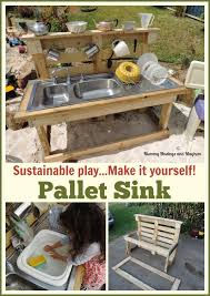 building a pallet kitchen sink from recycled materials find out how at mummy musings and