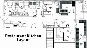 Small Commercial Kitchen Floor Plans Luxury Restaurant Kitchen