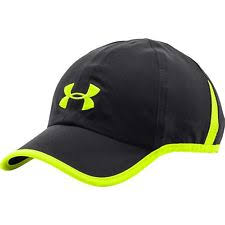 under armour hats. new under armour heat gear shadow running hat cap men black neon 1257748 under armour hats