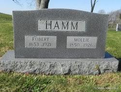 Mollie Sowder Hamm (1850-1926) - Find A Grave Memorial