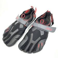 Fila Mens Skele Toes Ez Slide Black Scuba Running Shoes 10