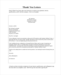Medical Assistant Simple Thank You Letter PDF