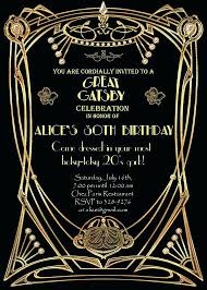 Great Gatsby Invitation Template Great Gatsby Invitation Template Orgullolgbt