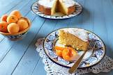 apricot and almond snack cake