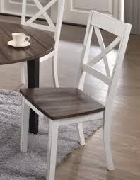 united a la carte farmhouse dining chair white