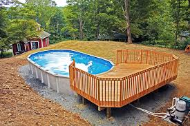 above ground round pool with deck. Small Above Ground Pool Ideas Fresh Innovative Oval With Decks  For Above Ground Pools Round Pool Deck S