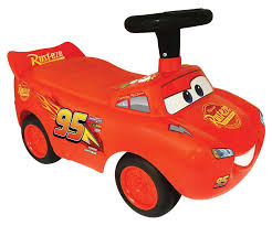 disney pixar cars 3 lightning mcqueen activity ride on red toys r us