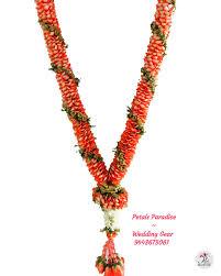 Indian Wedding Malai New Design Orange Colour Rose Petals Wedding Garland Flower Malai