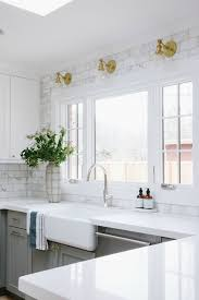 Painting Kitchen Tile Backsplash Awesome Kitchen Backsplash Tile How High To Go Driven By Decor