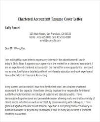 Cover Letter For Chartered Accountant 33 Accountant Resumes In Doc Free Premium Templates