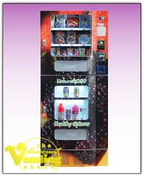 Vending Machine Charity Stickers Mesmerizing Fortune Resources NV48 Healthy Combo Vending Machine Vending