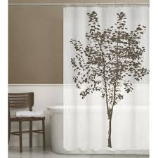 brown shower curtains. Arbor PEVA Shower Curtain In Brown Curtains H