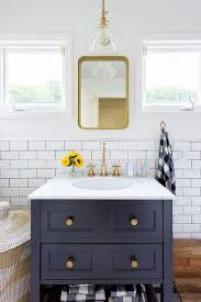 reclaimed wood floating bathroom vanity dark brown finish laminated wooden glass mirror white