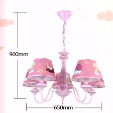 decoration cartoon girl led chandeliers kids room lights chandelier spiral baby for the bedroom in