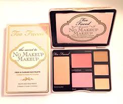 too faced no makeup makeup palette new