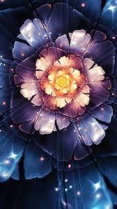 3D Abstract Flower Mobile HD Wallpaper ...