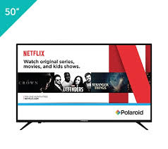 Polaroid 4K Ultra HD Smart TV with HDR - 50\u201d