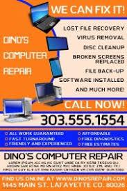 Computer Repair Flyer Template Computer Repair Flyer Templates PosterMyWall 2