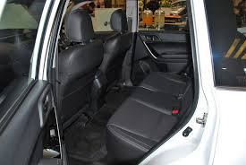 subaru forester 2 0i p rear seats 2016