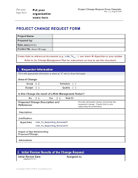 Project Change Order Template Software Change Management Template New Engineering Change Order