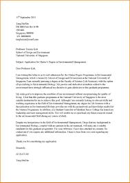 Graduate Program Cover Letter Cover Letter Master Under Fontanacountryinn Com