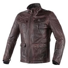 dainese leather jackets dark brown