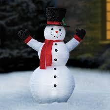 72 Light Up Snowman Pre Lit Pop Up Snowman