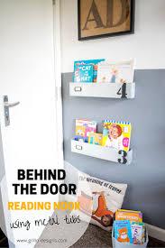 behinf the door reading nook
